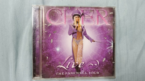 cd cher - live: the farewell tour