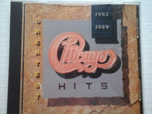 cd chicago greatest hits 1982 1989 excelente