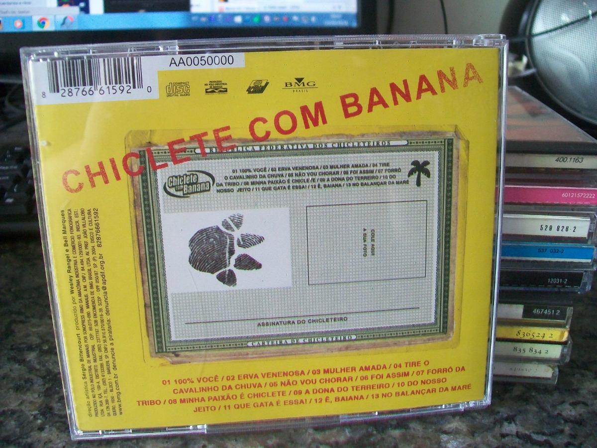cd chiclete com banana sou chicleteiro