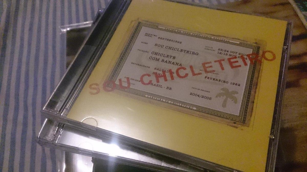 cd chiclete com banana sou chicleteiro 2005