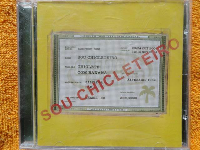 cd de chiclete com banana 2004