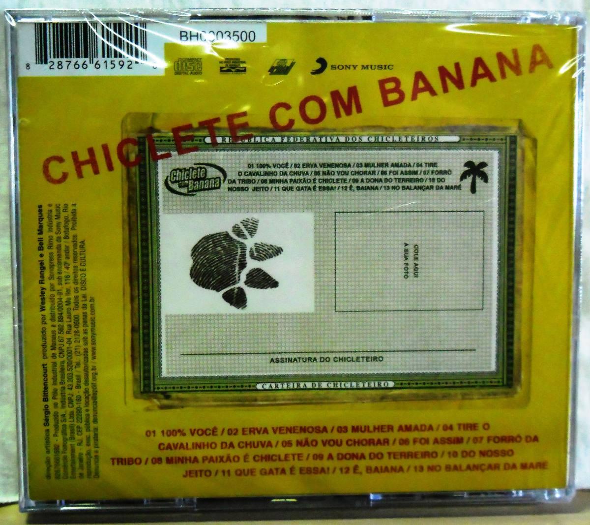 cd de chiclete com banana sou chicleteiro