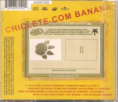 cd chiclete com banana - sou chicleteiro - novo***