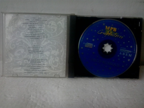 cd chico buarque vol 1 mpb compositores . envio 9;00$