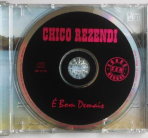 cd chico rezendi é bom demais forró reggae raro p/colecionar