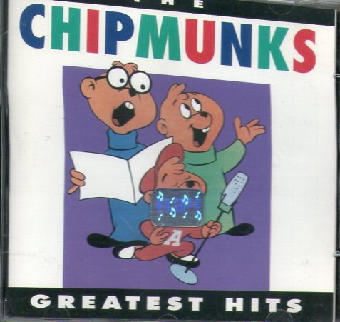 cd chipmunks - the greatest hits - novo***