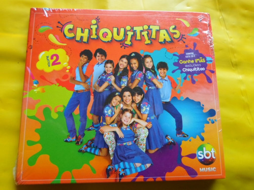 cd chiquititas vol. 2 / sbt music / novo