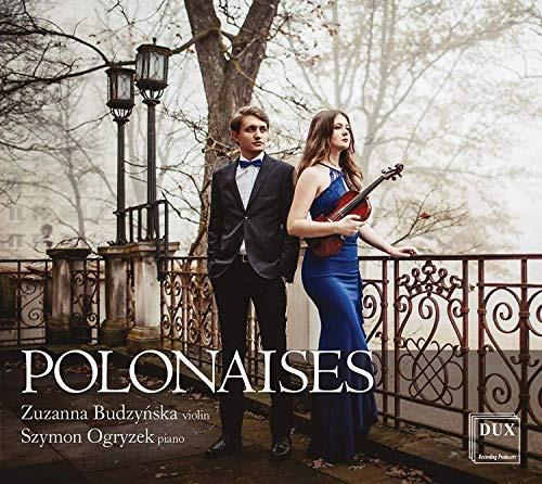 cd : chopin / budzynska / ogryzek - polonaises for violin &.
