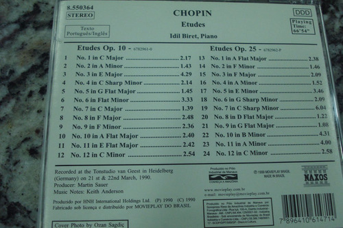cd  chopin - original
