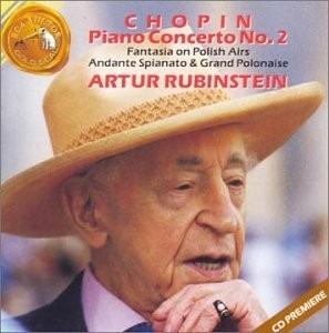 cd chopin piano concerto nº 2 - artur rubinstein - importado
