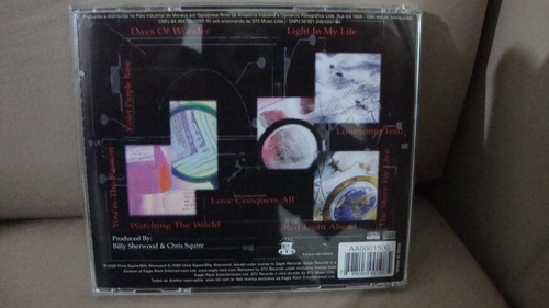 cd chris squire conspiracy
