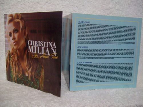 cd christina millan- it's about time