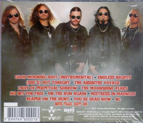 cd chrome division - infernal rock eternal - novo***
