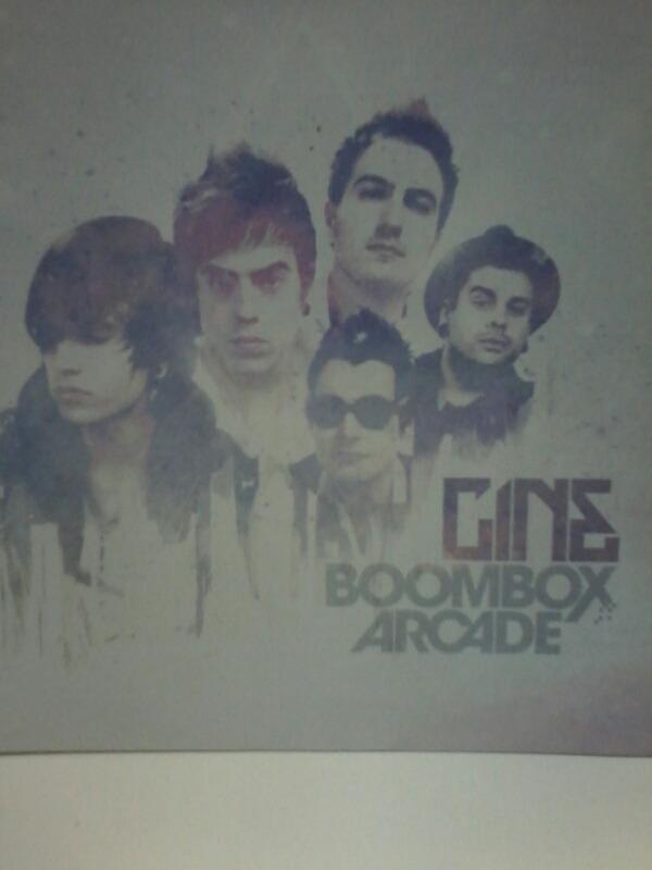 cd cine boombox arcade