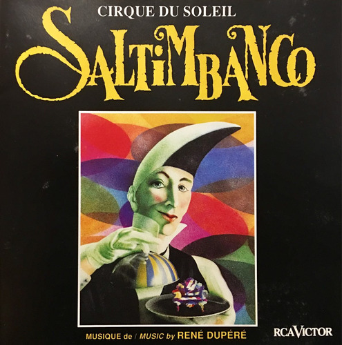 cd cirque du soleil saltimbanco importado
