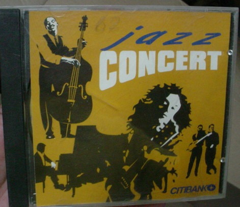 cd  citibank  /  jazz concert  -  b249