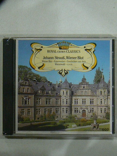 cd clasico royal crown classics j straub w blut
