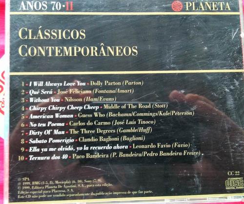 cd classicos conteporaneos  anos 70  vol  i i
