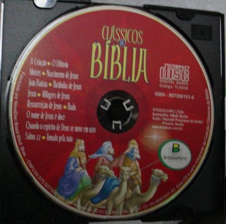 cd  classicos  da  biblia   -  b204