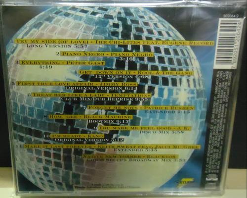 cd clássicos das pistas o melhor da r&b funk  black pop
