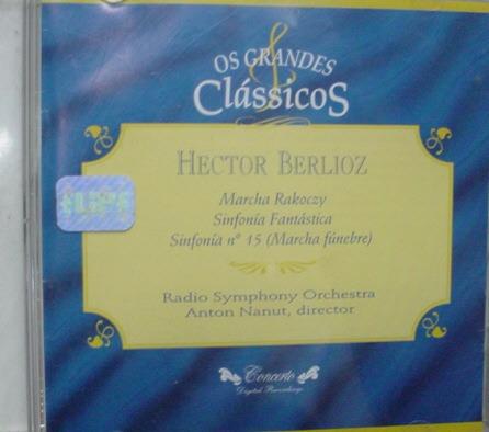 cd   classicos  :  hector berlioz  - b218