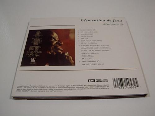 cd clementina de jesus - marinheiro só (remasterizado)