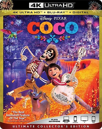 cd : coco (with blu-ray, 4k mastering, ultimate edition,...