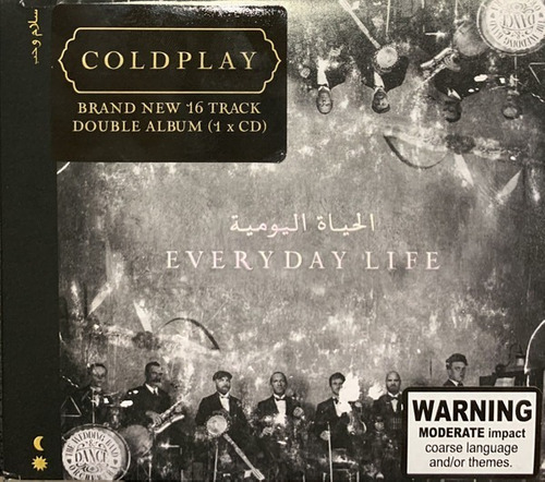 cd coldplay - everyday life nuevo y sellado obivinilos