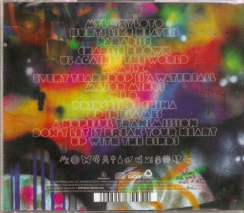 cd coldplay - mylo xyloto - novo***