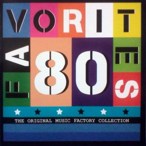 cd colección favorites 80 the original / varios (album 80's)