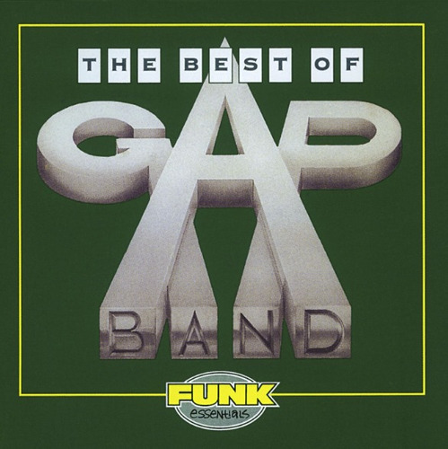 cd colección gap band / the best of gap band (popfunky 70's)