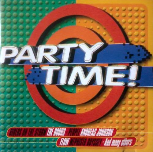 cd colección party time / varios (album 2000 dance 90's )