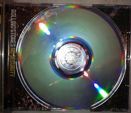 cd coleccion the rolling stone no security live bs 30.000