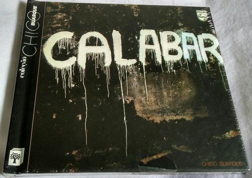 cd coleção chico buarque (calabar 1973)