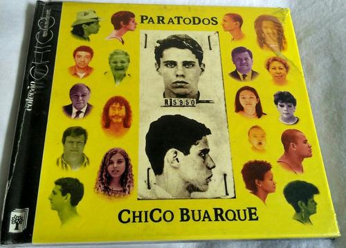 cd coleção chico buarque (para todos 1993)