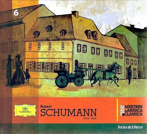cd coleção folha mestres da música clássica schumann 6