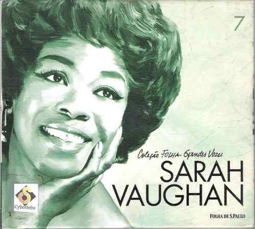 cd - coleção grandes vozes - sarah vaughan - imperdivel