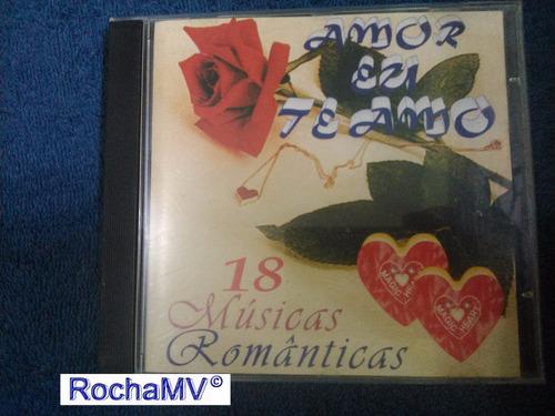 cd  coletânea - amor eu te amo