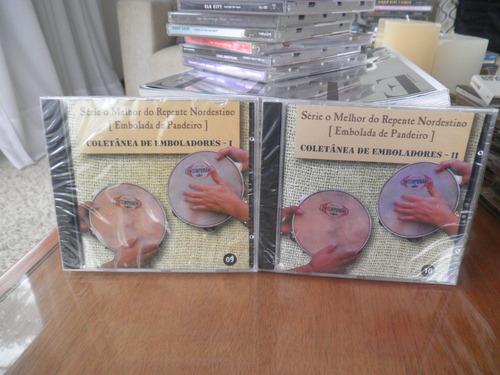 cd coletânea de emboladores i e ii 2 cds novo lacrado