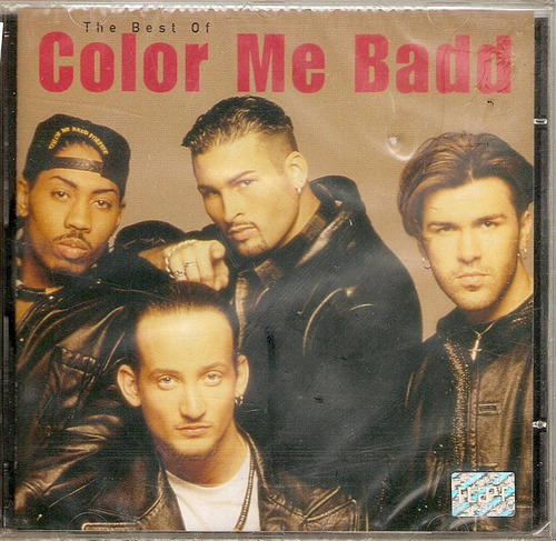 cd color me bad - the best of - novo***
