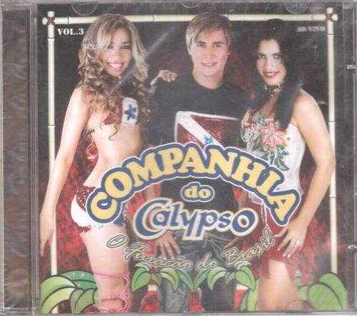 cd companhia do calypso vol.03 ao vivo original frete grátis