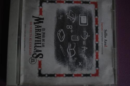 cd compilado sello azul vol. 3