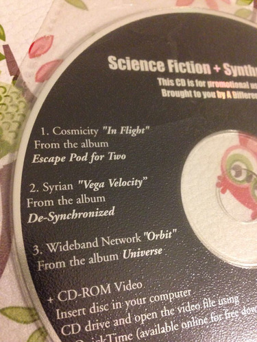cd compilado synthpop futurepop a different drum promo