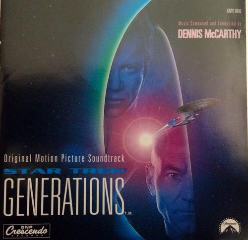 cd con la musica de la pelicula star trek generations.