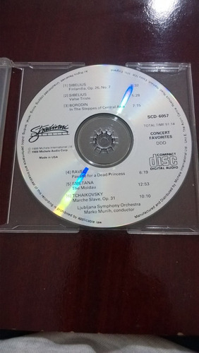 cd concert favorites / clássicos-importado-1988 frete grátis