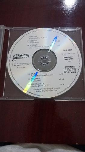 cd concert favorites / clássicos -importado-  (frete grátis)