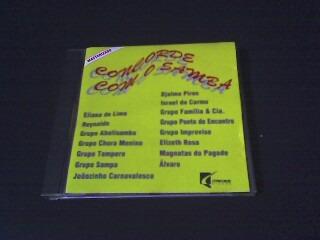 cd   concorde com o samba  (original)