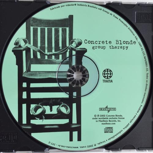 Cd concrete blonde group therapy 2002 1 edi o nacional r 11 38 em mercado livre - Cd concreet ...