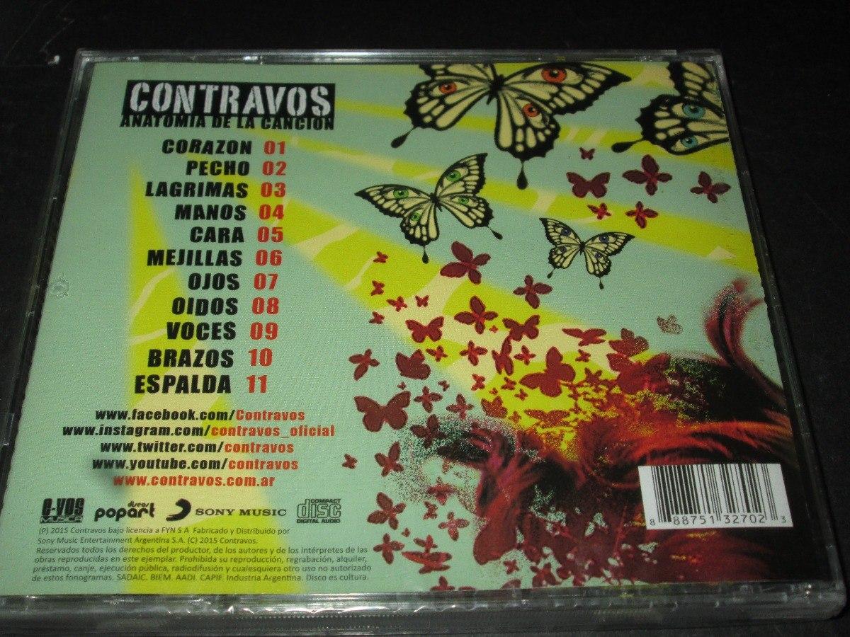 Cd Contravos Anatomia De La Canción Nuevo - $ 100,00 en Mercado Libre