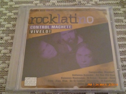 cd control machete rock mexicano vívelo. umm